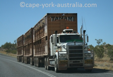 australian road trains kimberley