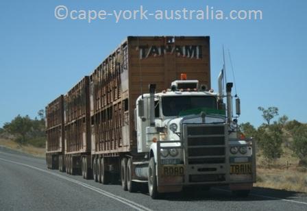 australian road trains kimberley