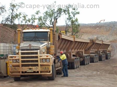 australian road trains mount garnet