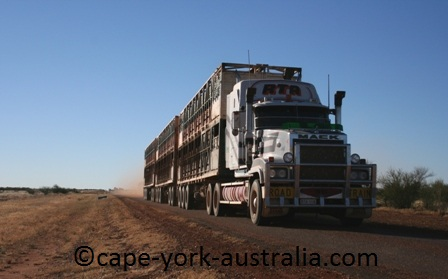 australian road trains mt isa