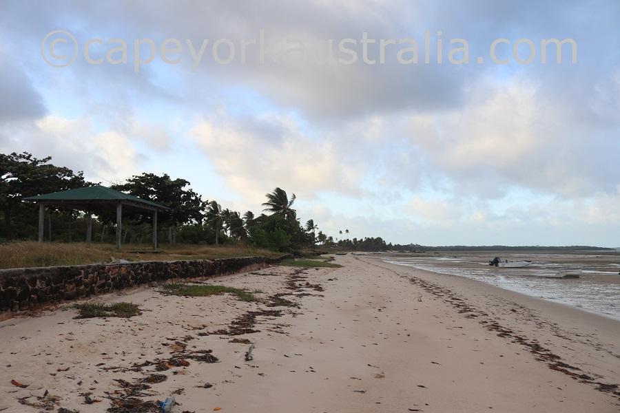 badu community beach walk gazebo