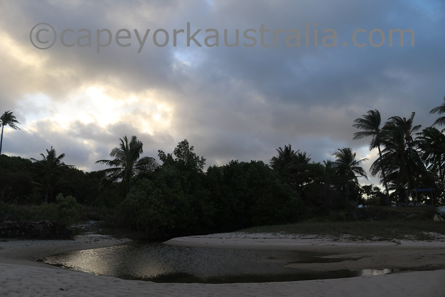 badu community beach walk matanubar creek