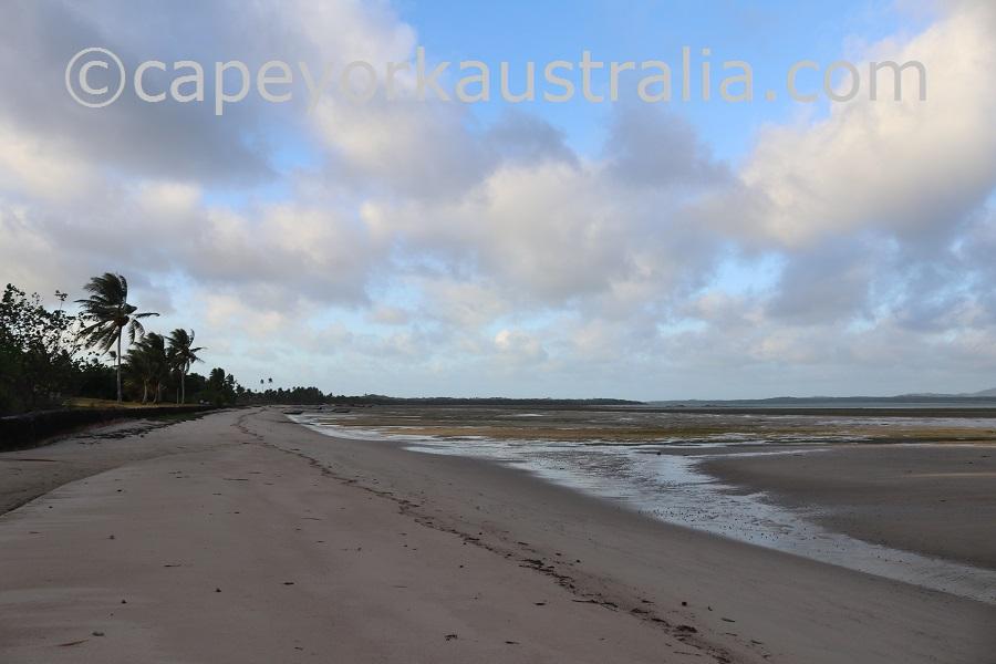 badu community beach walk south of cemetery