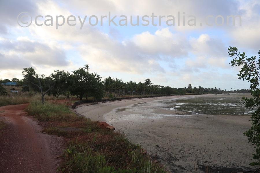 badu community beach walk wadan weibadh