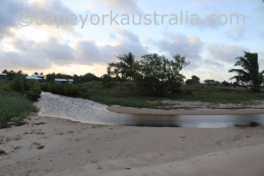 badu community beach walk wakaid creek