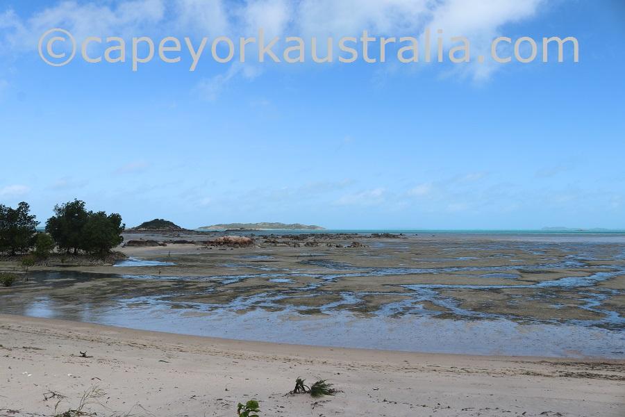 badu graz beach views