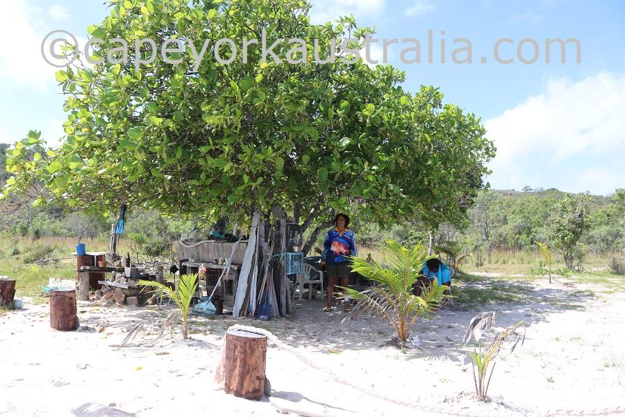badu island argun camp