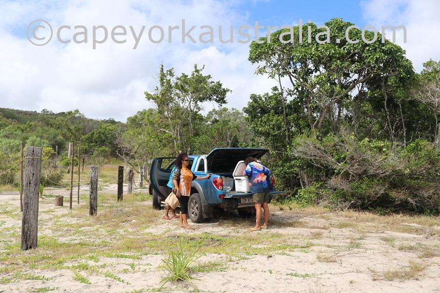 badu island argun camping
