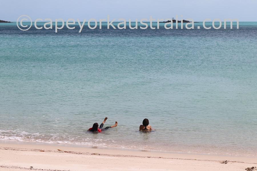 badu island argun swimming