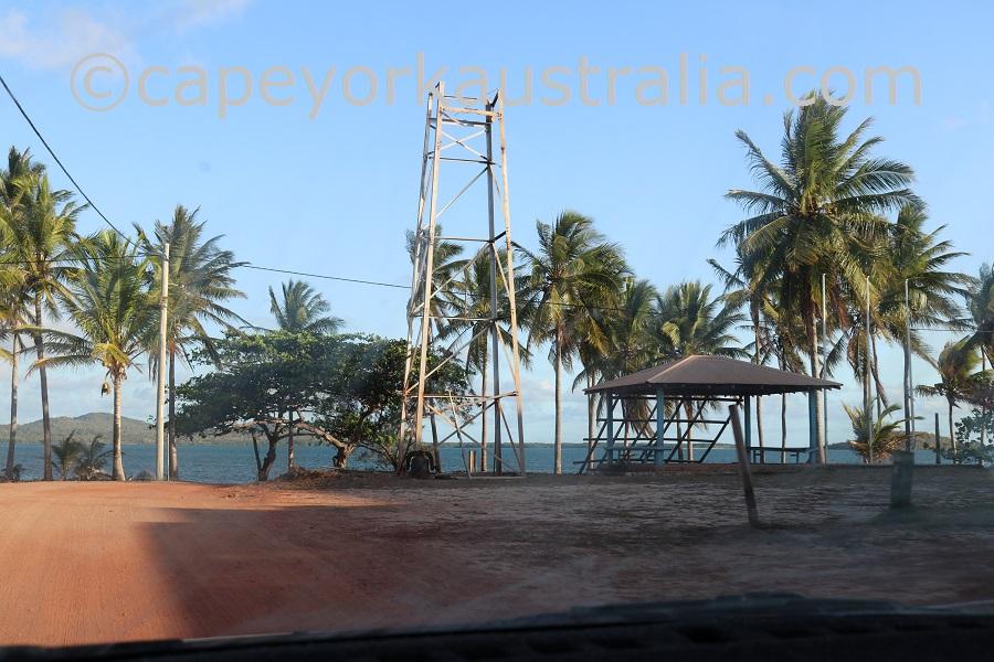badu island beachfront