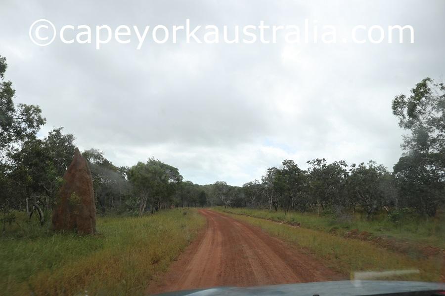 badu island central road