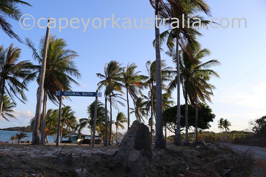 badu island community