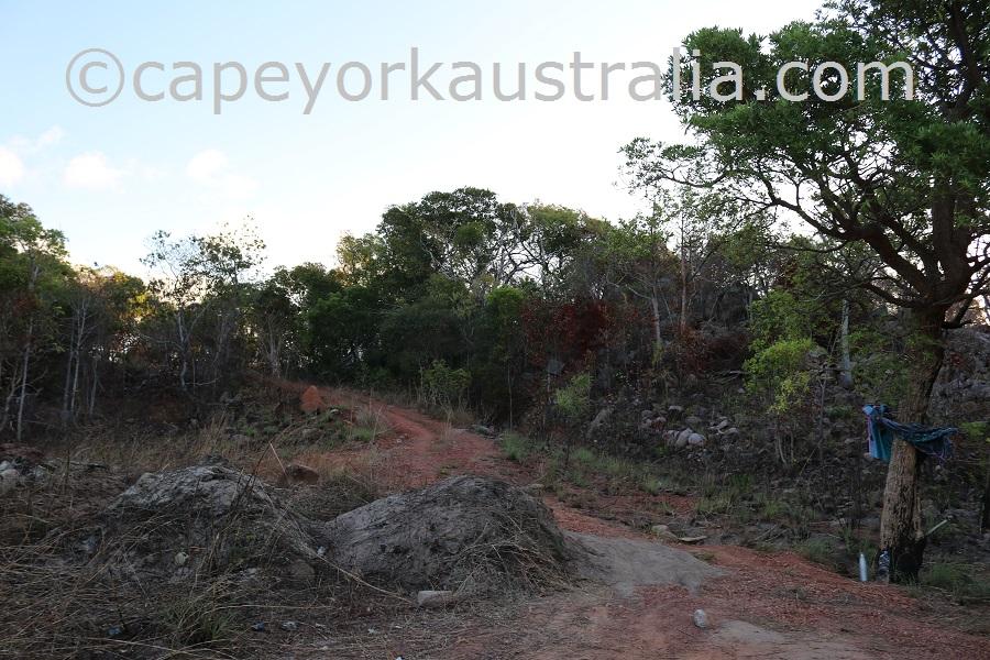 badu island lookout walk