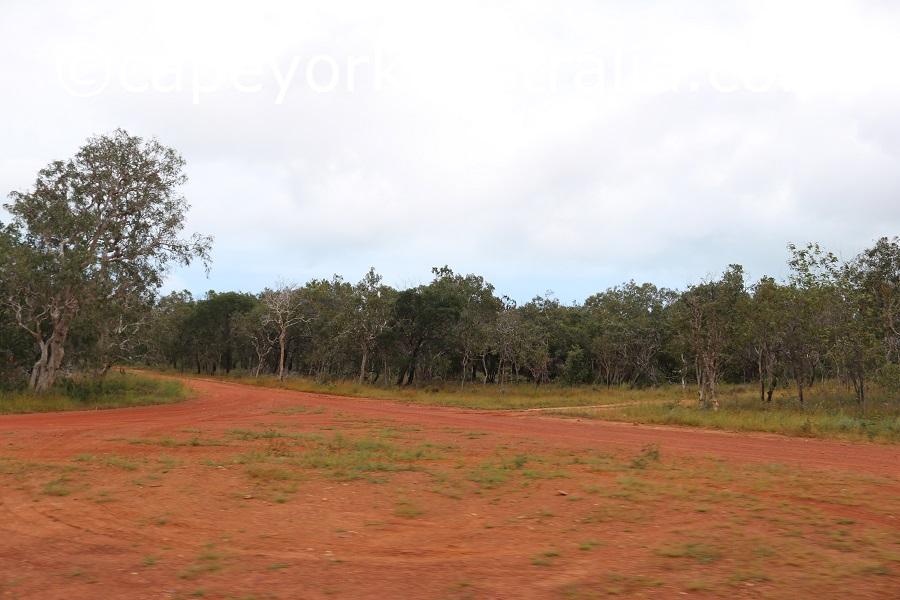 badu island north of airport