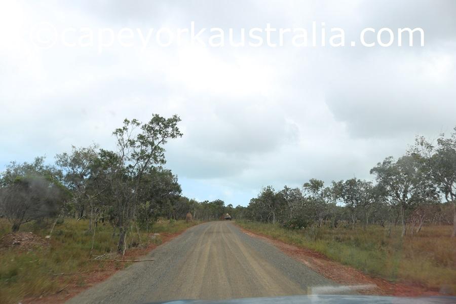 badu island north of airstrip