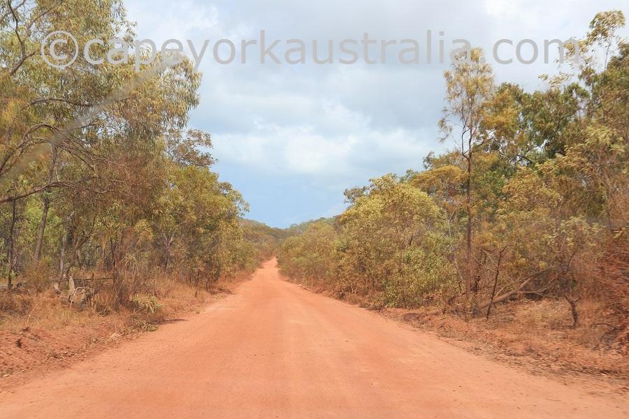 badu island road
