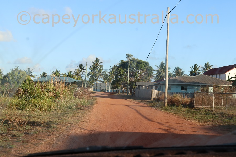 badu island street
