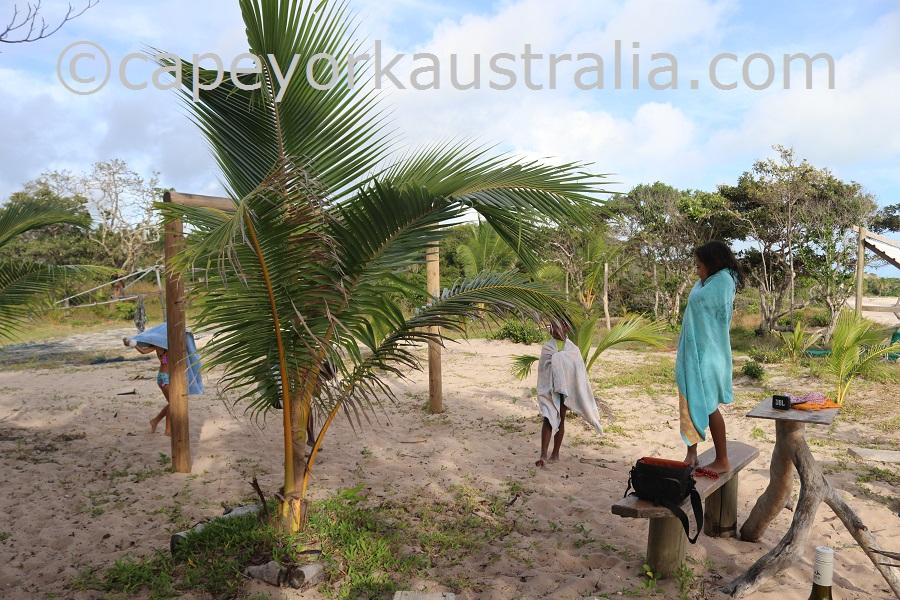 badu island swim