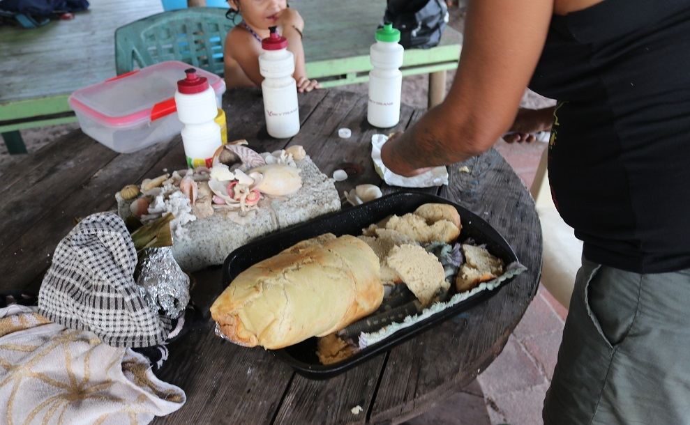 badu island traditional cooking