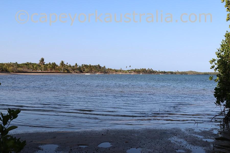 badu island waterfront