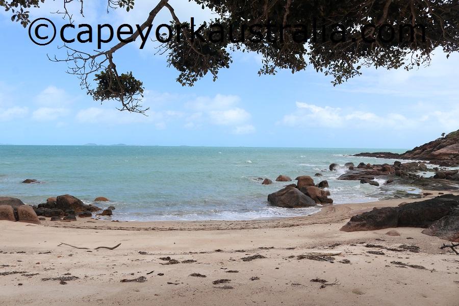 badu island yaza beach