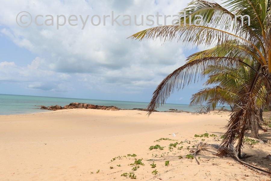 badu island yaza views