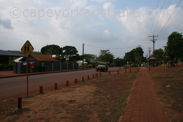 bamaga main street