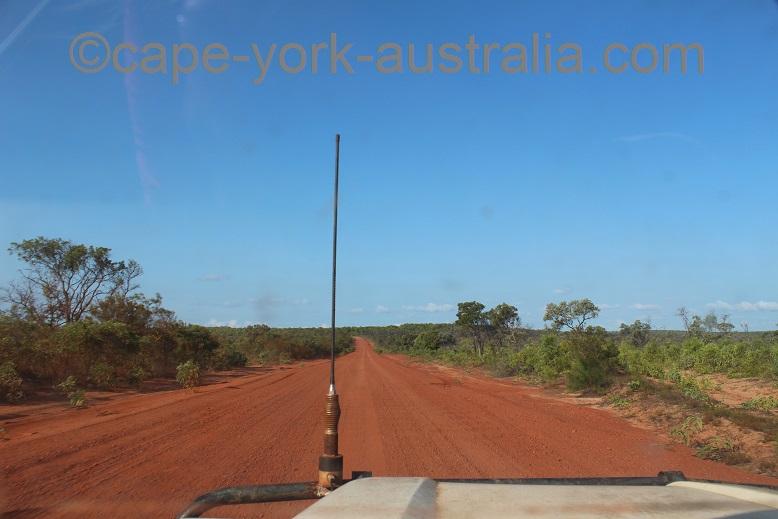 bamaga road