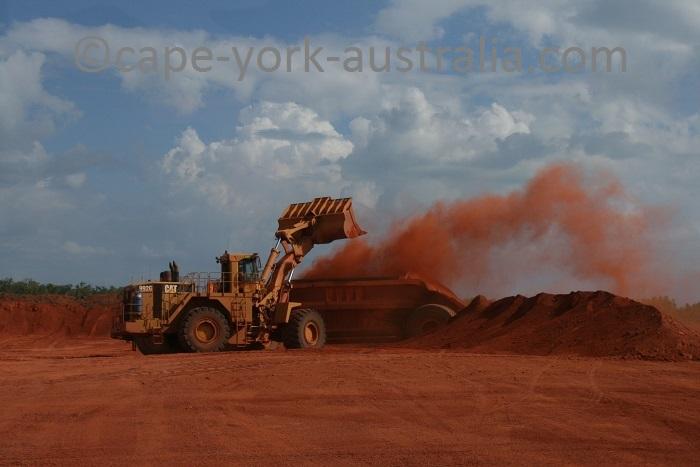 bauxite mining weipa