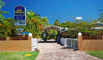 best western lazy lizard motel port douglas