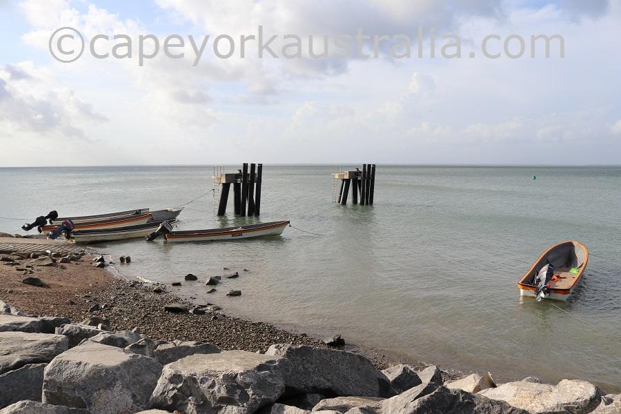 boigu island barge ramp