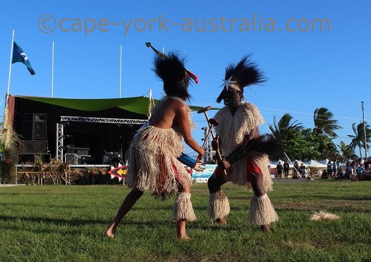 boigu island dancers