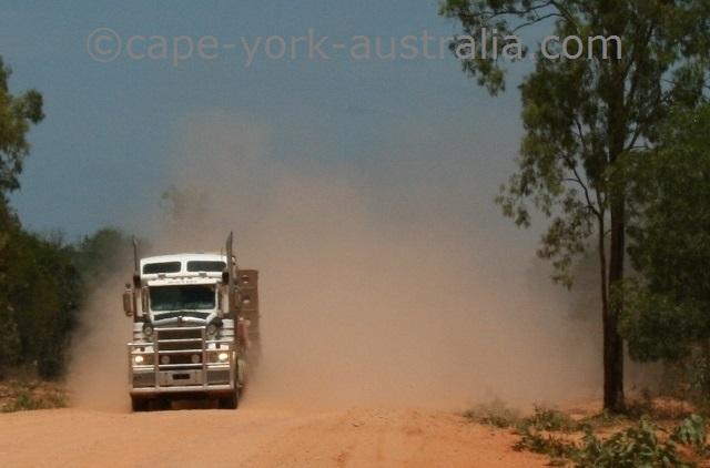 bulldust cape york australia