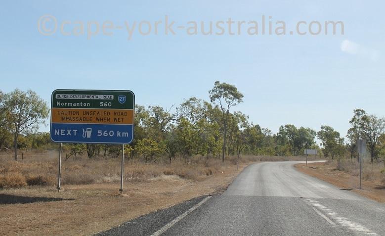 burke developmental road distances