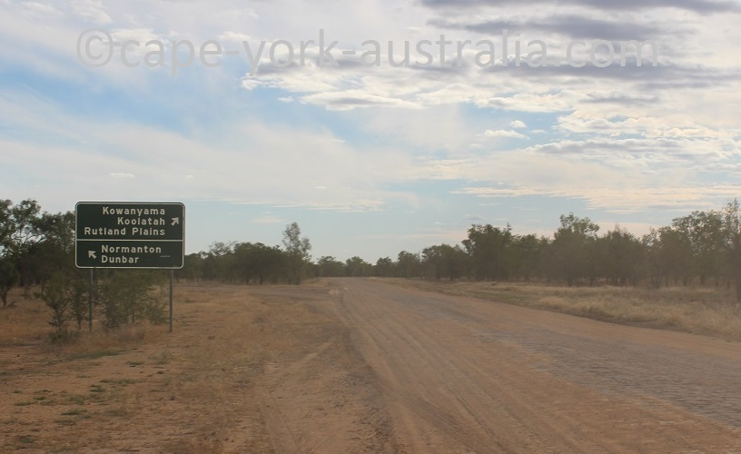burke developmental road kowanyama turnoff