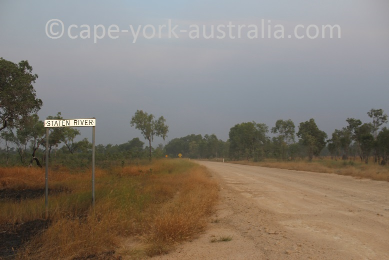 burke developmental road staaten river