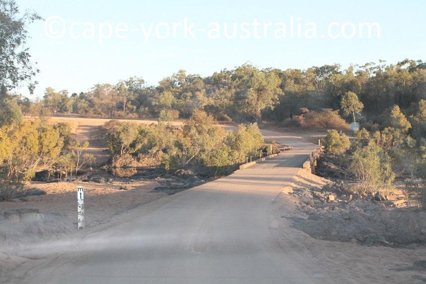 burke developmental road walsh river crossing