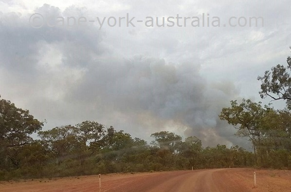 bushfires cape york