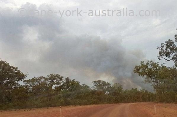 bushfires cape york