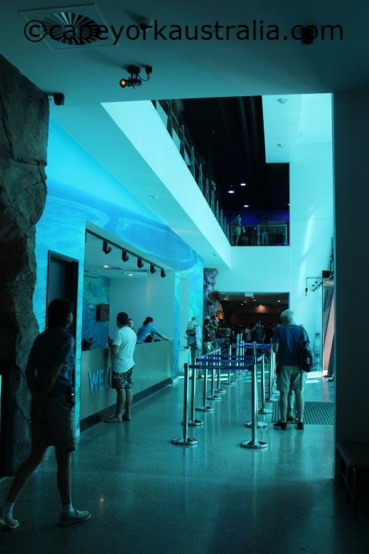 cairns aquarium entrance