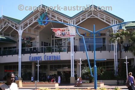 cairns central shopping