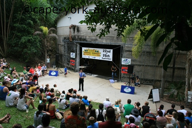 cairns festival comedy