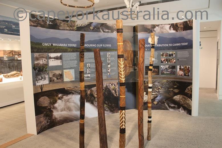 cairns museum aboriginal display