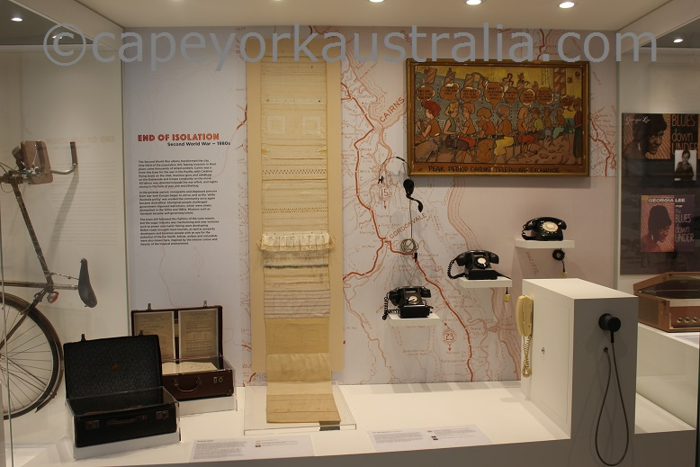 cairns museum display