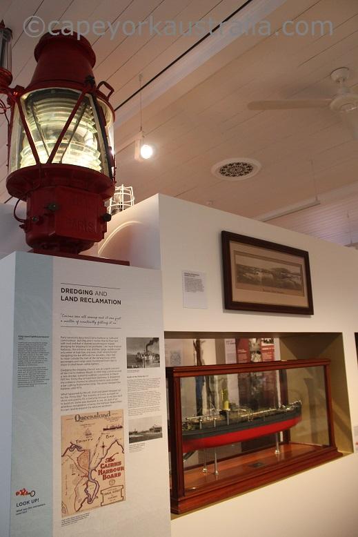 cairns museum dredging