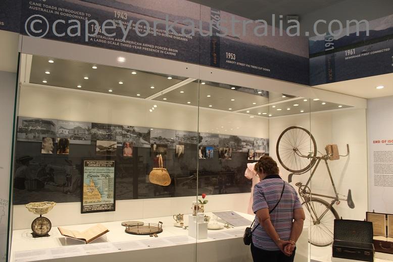 cairns museum pioneer display