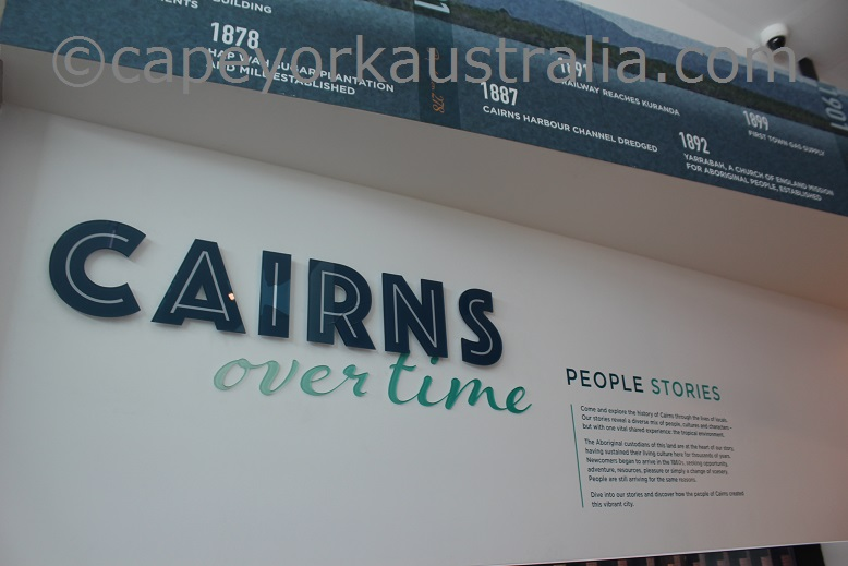 cairns museum timeline