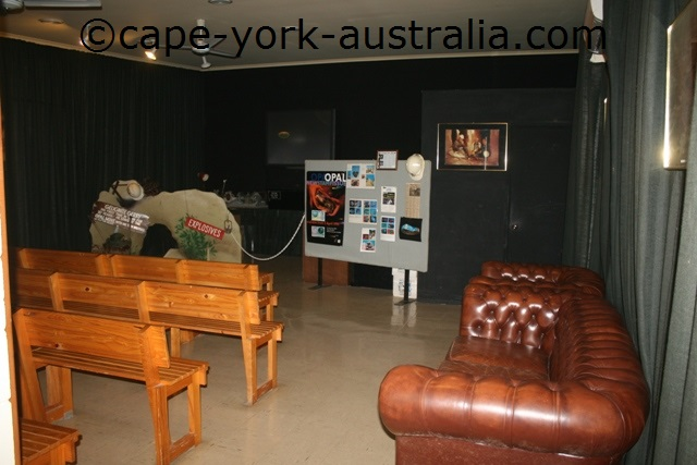 cairns outback opal mine movie room