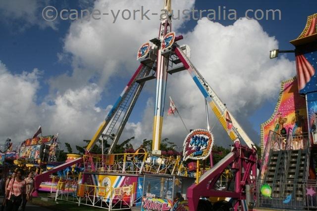 cairns show amusement rides