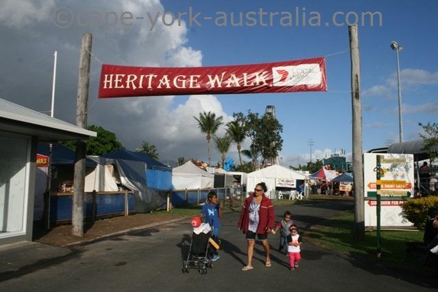 cairns show heritage walk
